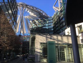 Sony Center und Kaisersaal, Berlin